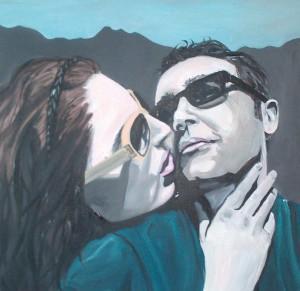 love you, acryl op canvas, 2013